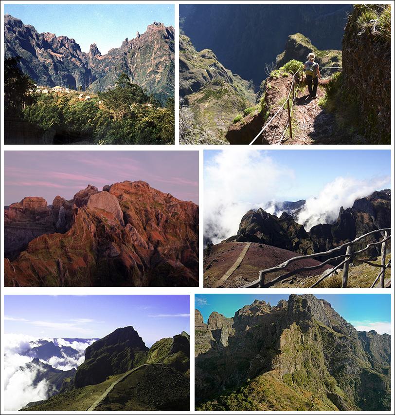 montañas de madeira pico das torres