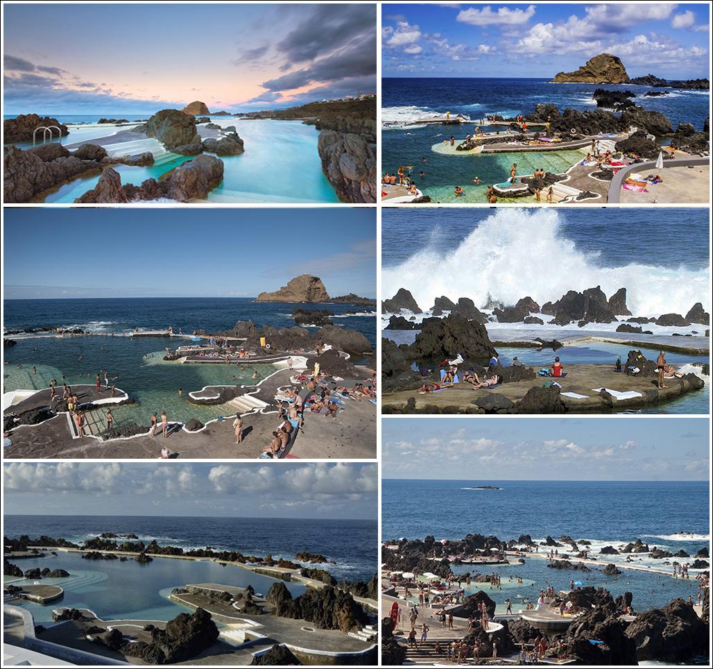 piscinas naturales de madeira isla de madeira portugal