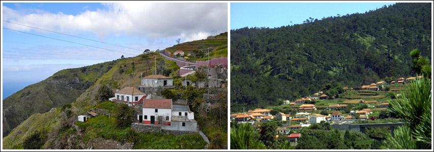 pueblos de madeira Fajã da Ovelha