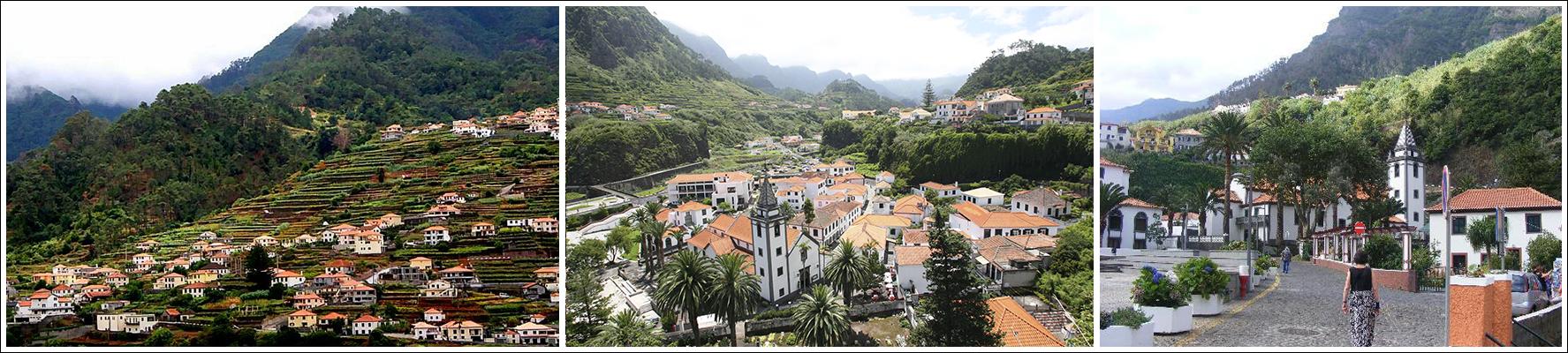 pueblos de madeira São Vicente