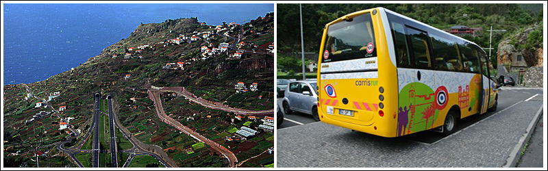 moverse en Madeira